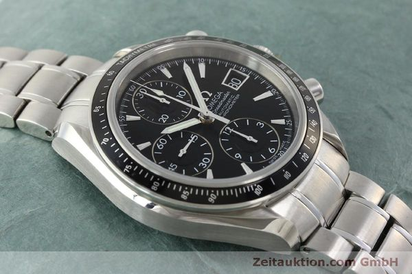 Used luxury watch Omega Speedmaster chronograph steel automatic Kal. 1164 B Ref. 32105000  | 151590 17