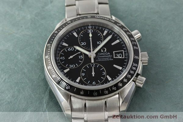 Used luxury watch Omega Speedmaster chronograph steel automatic Kal. 1164 B Ref. 32105000  | 151590 18