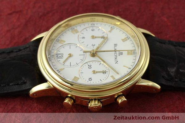 Used luxury watch Blancpain Villeret chronograph 18 ct gold automatic Kal. 1186  | 151592 05