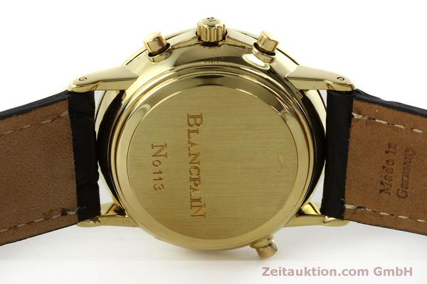 Used luxury watch Blancpain Villeret chronograph 18 ct gold automatic Kal. 1186  | 151592 08