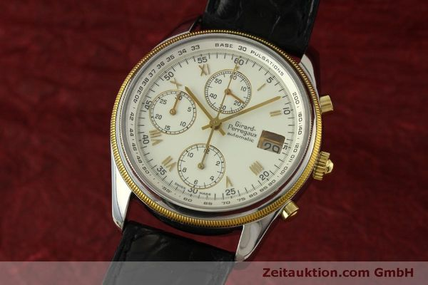 Used luxury watch Girard Perregaux GP 4900 chronograph steel / gold automatic Kal. 800-014 Ref. 4900  | 151595 04
