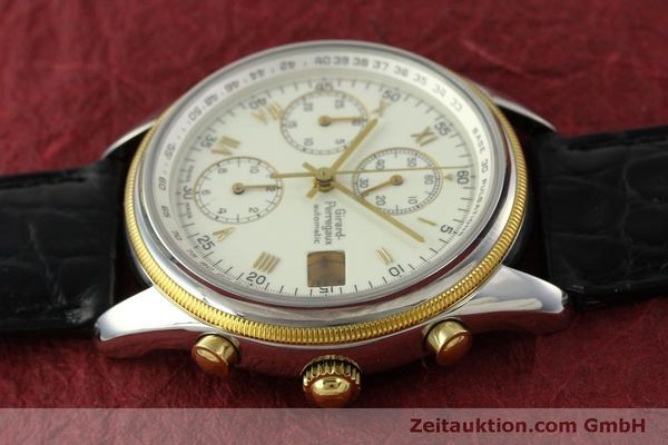 Used luxury watch Girard Perregaux GP 4900 chronograph steel / gold automatic Kal. 800-014 Ref. 4900  | 151595 05