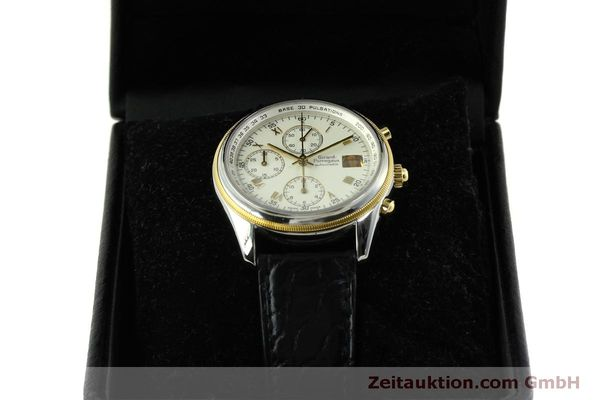 Used luxury watch Girard Perregaux GP 4900 chronograph steel / gold automatic Kal. 800-014 Ref. 4900  | 151595 07