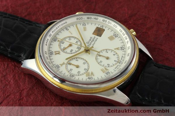 Used luxury watch Girard Perregaux GP 4900 chronograph steel / gold automatic Kal. 800-014 Ref. 4900  | 151595 14