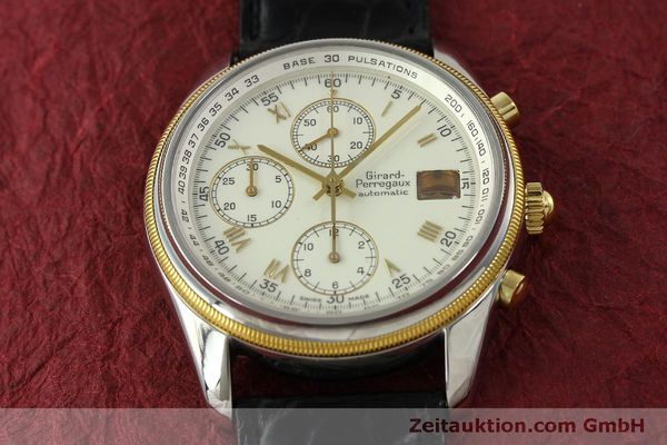 Used luxury watch Girard Perregaux GP 4900 chronograph steel / gold automatic Kal. 800-014 Ref. 4900  | 151595 15