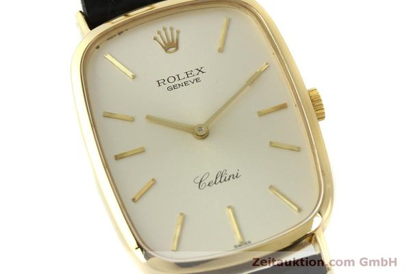 Used luxury watch Rolex Cellini 18 ct gold manual winding Kal. 1601 Ref. 4113  | 151598 02