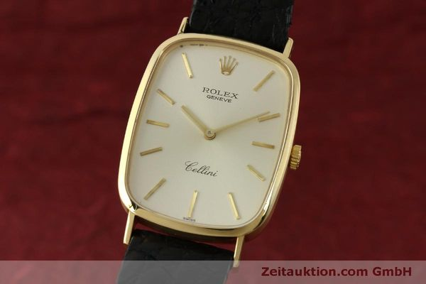 Used luxury watch Rolex Cellini 18 ct gold manual winding Kal. 1601 Ref. 4113  | 151598 04