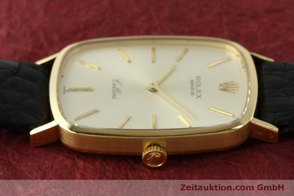 Used luxury watch Rolex Cellini 18 ct gold manual winding Kal. 1601 Ref. 4113  | 151598 05