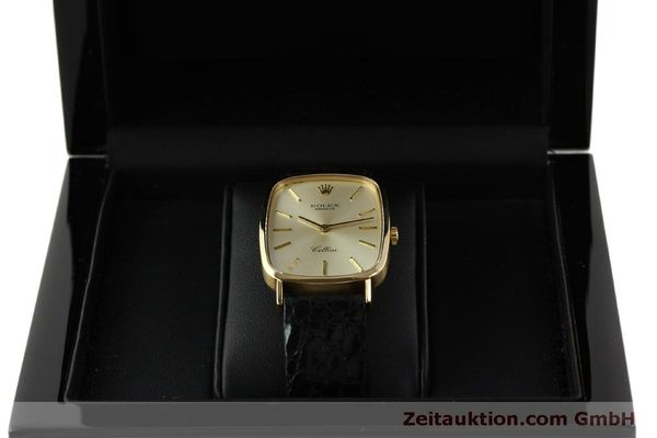Used luxury watch Rolex Cellini 18 ct gold manual winding Kal. 1601 Ref. 4113  | 151598 07