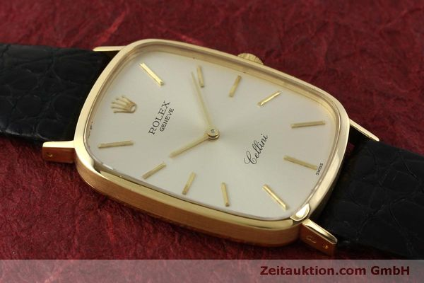 Used luxury watch Rolex Cellini 18 ct gold manual winding Kal. 1601 Ref. 4113  | 151598 13