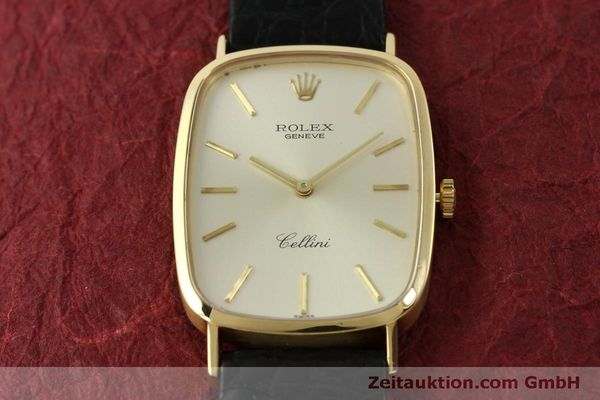 Used luxury watch Rolex Cellini 18 ct gold manual winding Kal. 1601 Ref. 4113  | 151598 14