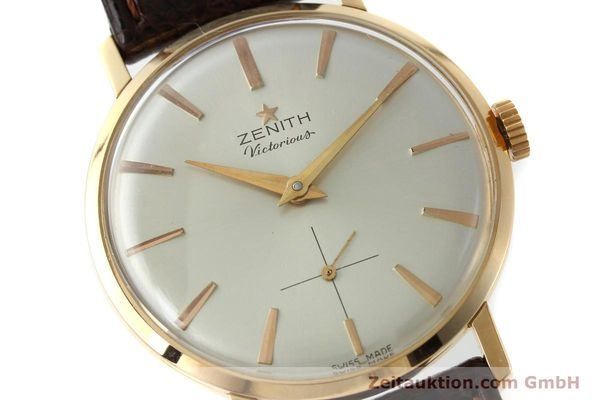 Used luxury watch Zenith Victorious 18 ct red gold manual winding Kal. 40-T VINTAGE  | 151599 02