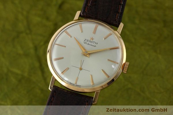 Used luxury watch Zenith Victorious 18 ct red gold manual winding Kal. 40-T VINTAGE  | 151599 04