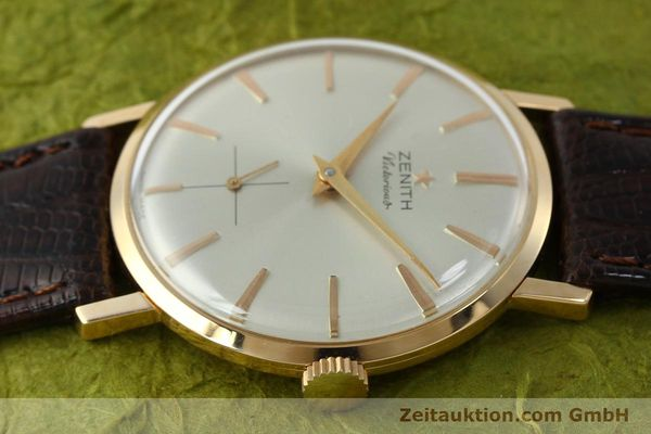 Used luxury watch Zenith Victorious 18 ct red gold manual winding Kal. 40-T VINTAGE  | 151599 05
