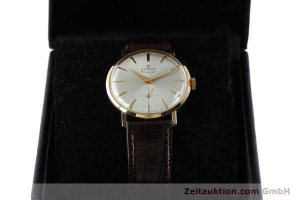 Used luxury watch Zenith Victorious 18 ct red gold manual winding Kal. 40-T VINTAGE  | 151599 07