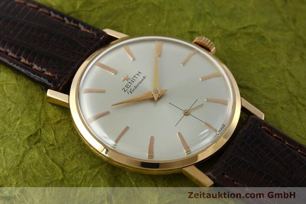 Used luxury watch Zenith Victorious 18 ct red gold manual winding Kal. 40-T VINTAGE  | 151599 13