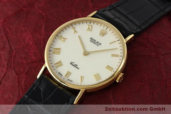 Used luxury watch Rolex Cellini 18 ct gold manual winding Kal. 1601  | 151604 01