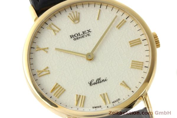 Used luxury watch Rolex Cellini 18 ct gold manual winding Kal. 1601  | 151604 02