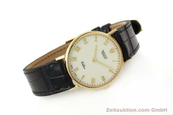 Used luxury watch Rolex Cellini 18 ct gold manual winding Kal. 1601  | 151604 03