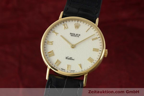 Used luxury watch Rolex Cellini 18 ct gold manual winding Kal. 1601  | 151604 04