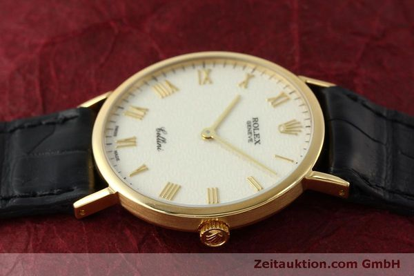 Used luxury watch Rolex Cellini 18 ct gold manual winding Kal. 1601  | 151604 05