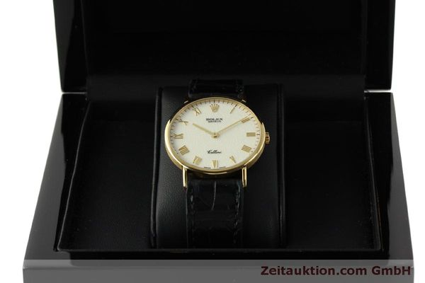 Used luxury watch Rolex Cellini 18 ct gold manual winding Kal. 1601  | 151604 07