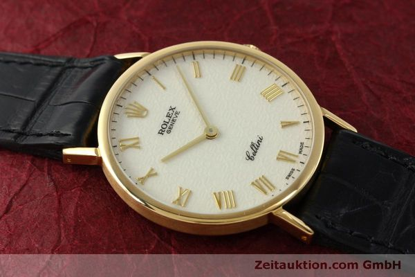 Used luxury watch Rolex Cellini 18 ct gold manual winding Kal. 1601  | 151604 14