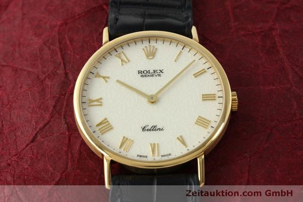 Used luxury watch Rolex Cellini 18 ct gold manual winding Kal. 1601  | 151604 15