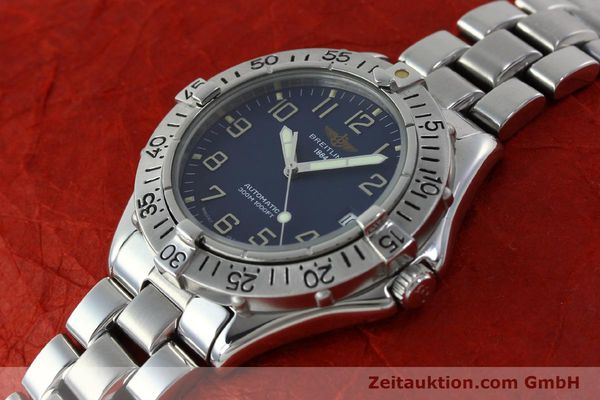 Used luxury watch Breitling Colt steel automatic Kal. B17 ETA 2824-2 Ref. A17035  | 151615 01