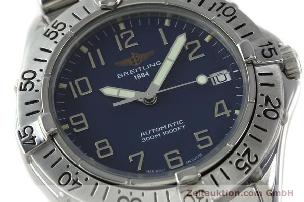 Used luxury watch Breitling Colt steel automatic Kal. B17 ETA 2824-2 Ref. A17035  | 151615 02