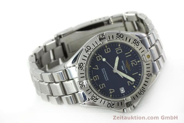 Used luxury watch Breitling Colt steel automatic Kal. B17 ETA 2824-2 Ref. A17035  | 151615 03