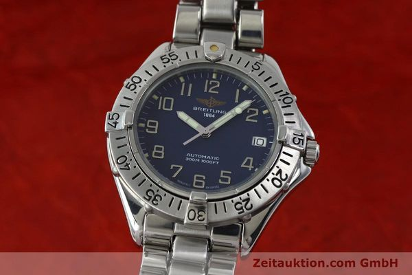 Used luxury watch Breitling Colt steel automatic Kal. B17 ETA 2824-2 Ref. A17035  | 151615 04