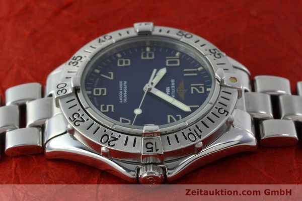 Used luxury watch Breitling Colt steel automatic Kal. B17 ETA 2824-2 Ref. A17035  | 151615 05