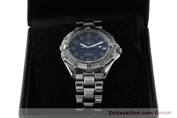 Used luxury watch Breitling Colt steel automatic Kal. B17 ETA 2824-2 Ref. A17035  | 151615 07