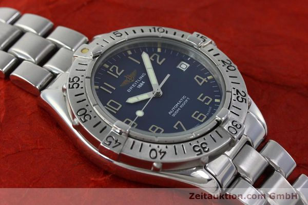 Used luxury watch Breitling Colt steel automatic Kal. B17 ETA 2824-2 Ref. A17035  | 151615 15