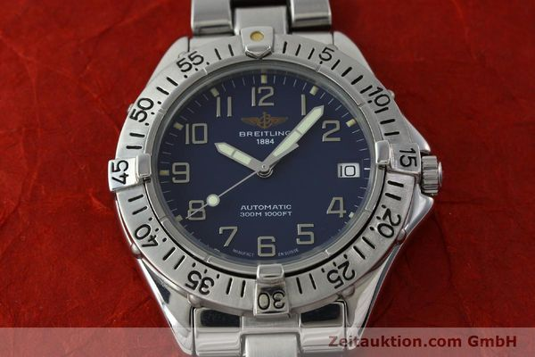 Used luxury watch Breitling Colt steel automatic Kal. B17 ETA 2824-2 Ref. A17035  | 151615 16