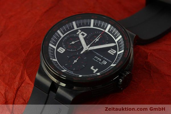 Used luxury watch Porsche Design Flat Six chronograph steel automatic Kal. ETA 7750 Ref. 6360.43  | 151624 01