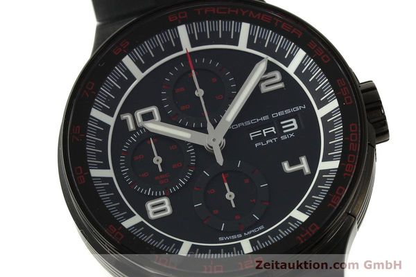 Used luxury watch Porsche Design Flat Six chronograph steel automatic Kal. ETA 7750 Ref. 6360.43  | 151624 02