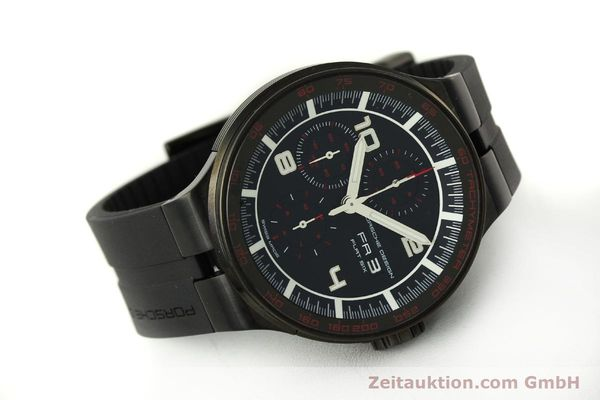 Used luxury watch Porsche Design Flat Six chronograph steel automatic Kal. ETA 7750 Ref. 6360.43  | 151624 03
