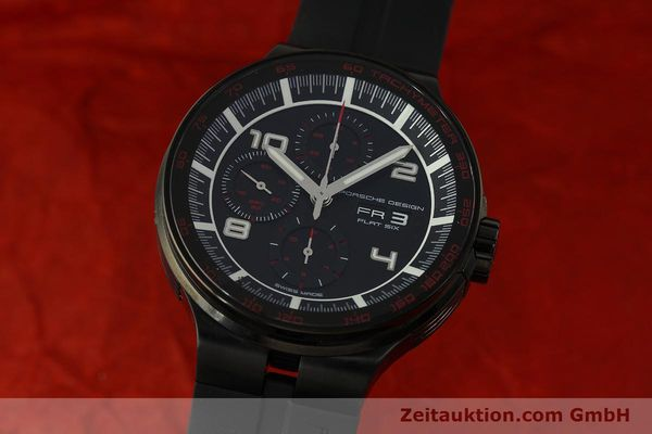 Used luxury watch Porsche Design Flat Six chronograph steel automatic Kal. ETA 7750 Ref. 6360.43  | 151624 04