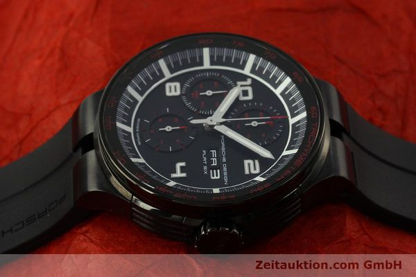Used luxury watch Porsche Design Flat Six chronograph steel automatic Kal. ETA 7750 Ref. 6360.43  | 151624 05