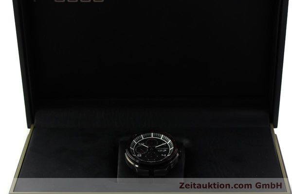 Used luxury watch Porsche Design Flat Six chronograph steel automatic Kal. ETA 7750 Ref. 6360.43  | 151624 07