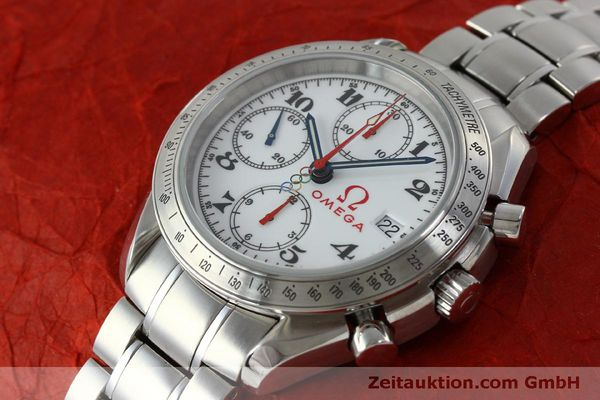 Used luxury watch Omega Speedmaster chronograph steel automatic Kal. 1164 Ref. 32310404004001  | 151637 01