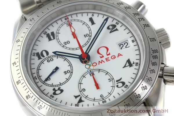 Used luxury watch Omega Speedmaster chronograph steel automatic Kal. 1164 Ref. 32310404004001  | 151637 02