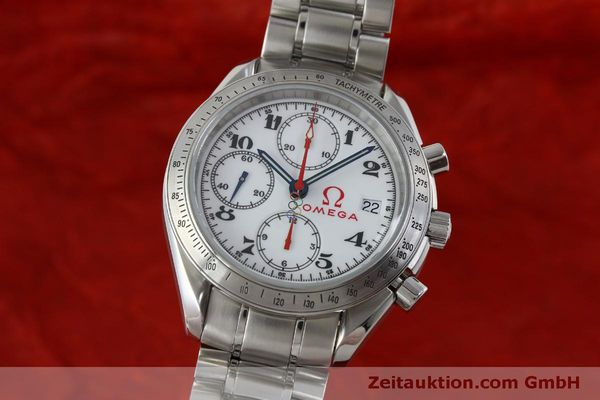 Used luxury watch Omega Speedmaster chronograph steel automatic Kal. 1164 Ref. 32310404004001  | 151637 04