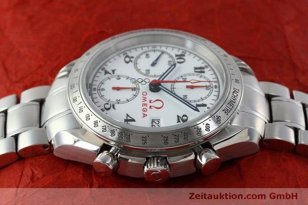 Used luxury watch Omega Speedmaster chronograph steel automatic Kal. 1164 Ref. 32310404004001  | 151637 05