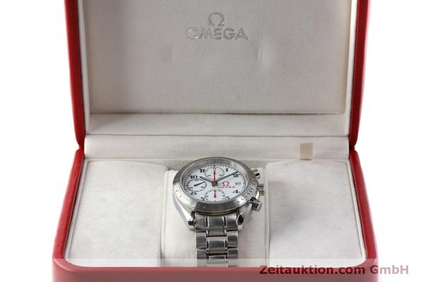 Used luxury watch Omega Speedmaster chronograph steel automatic Kal. 1164 Ref. 32310404004001  | 151637 07