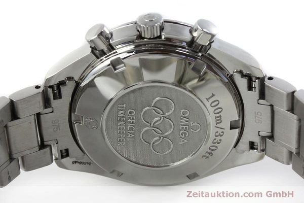 Used luxury watch Omega Speedmaster chronograph steel automatic Kal. 1164 Ref. 32310404004001  | 151637 09