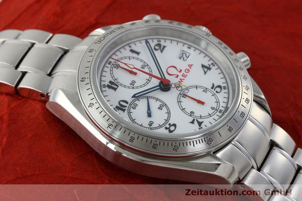 Used luxury watch Omega Speedmaster chronograph steel automatic Kal. 1164 Ref. 32310404004001  | 151637 17