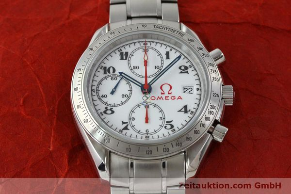 Used luxury watch Omega Speedmaster chronograph steel automatic Kal. 1164 Ref. 32310404004001  | 151637 18